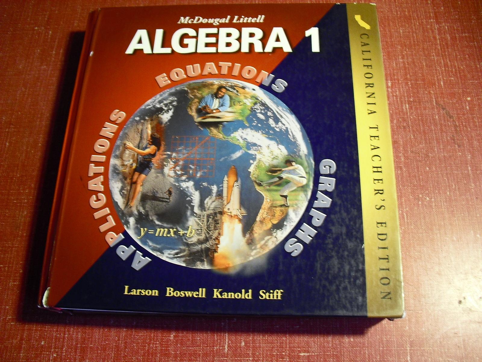 algebra 1  california  teachers  edition