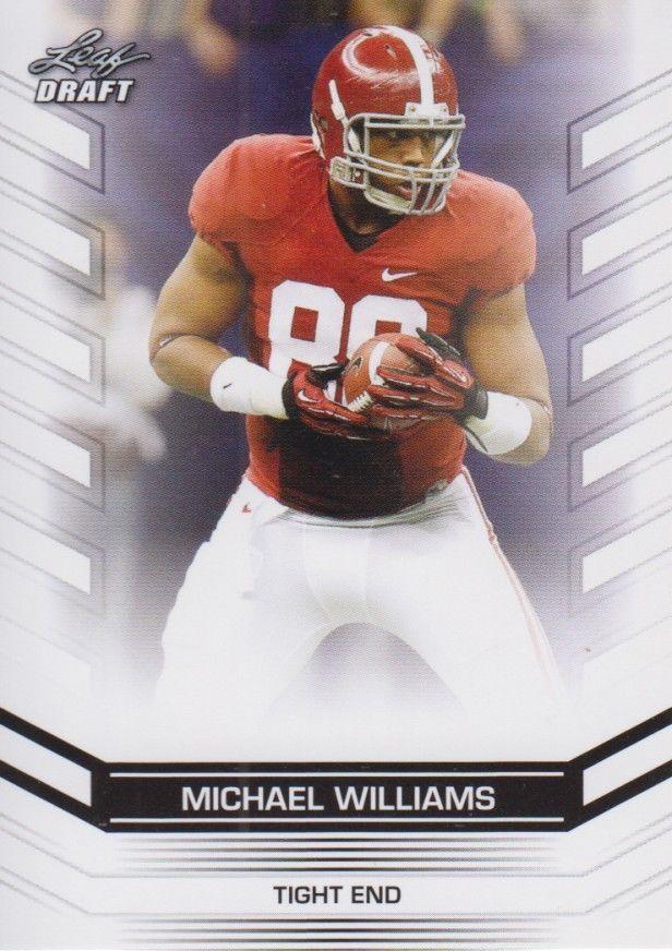 Michael Williams 2013 Leaf Draft Card #50