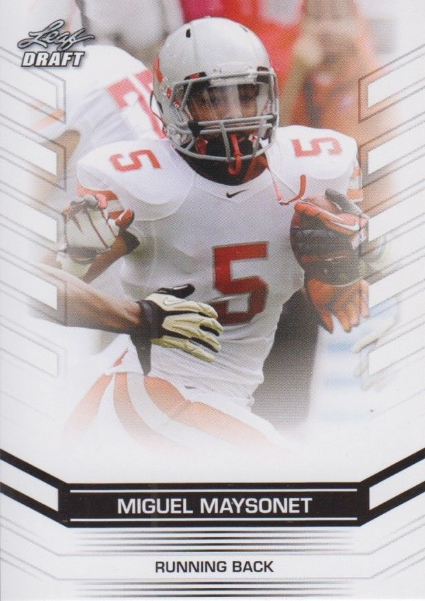 Miguel Maysonet 2013 Leaf Draft Card #51