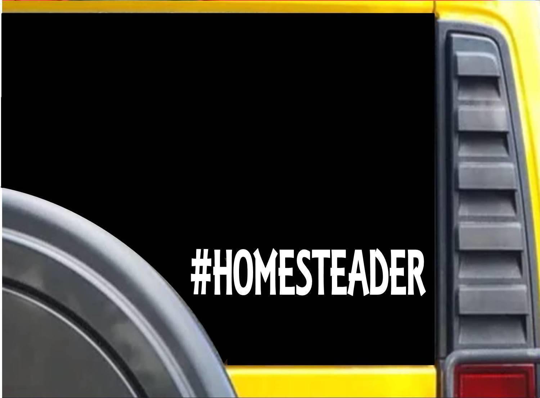 #Homesteader K620 8 inch Sticker decal
