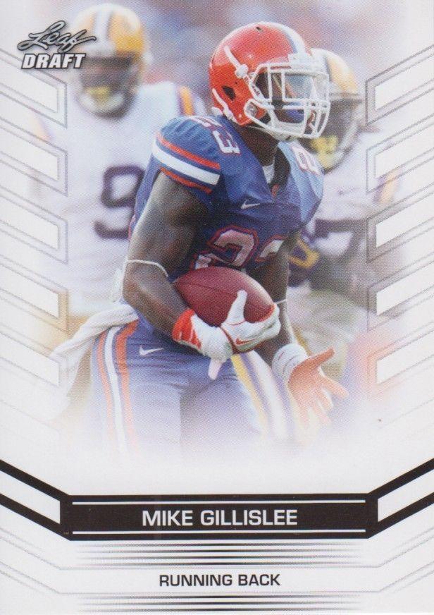 Mike Gillislee 2013 Leaf Draft Card #52