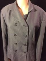 Ann Taylor Loft Button Up Coat Size 12 Bin #22  - $14.95