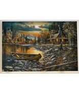 Jim Hansel High Country Retreat Artist Proof 1/25 Giclee LE SN Canvas Print - $225.00