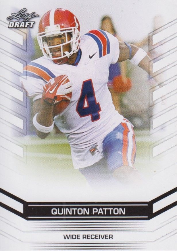 Quinton Patton 2013 Leaf Draft Card #57