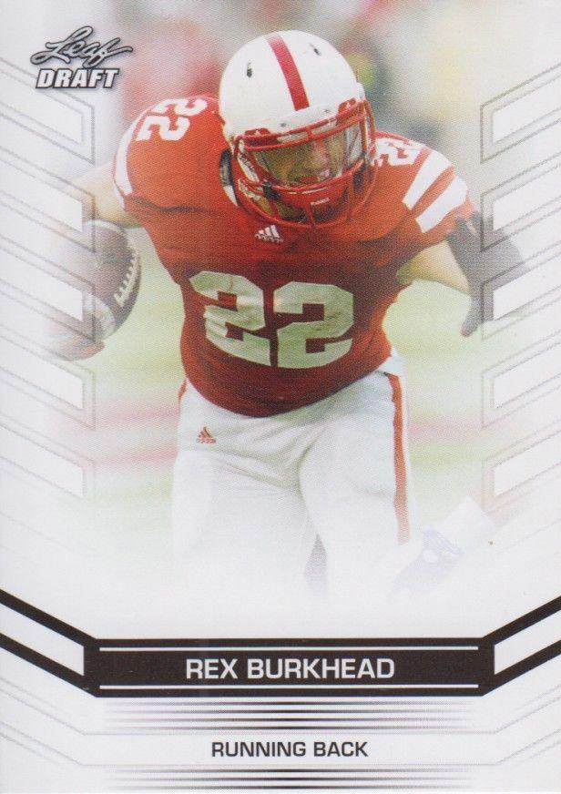 Rex Burkhead 2013 Leaf Draft Card #59
