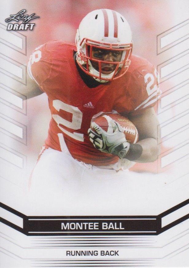 Montee Ball 2013 Leaf Draft Card #54