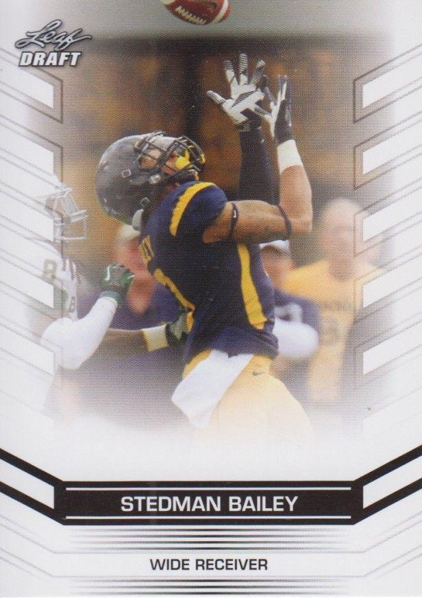Stedman Bailey 2013 Leaf Draft Card #66