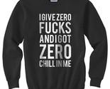 I give a zero fucks  sweater black thumb155 crop