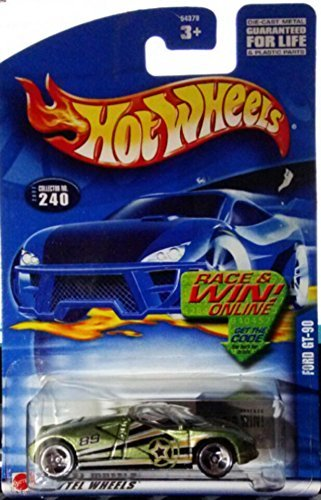 Hot Wheels - Ford GT-90 - #240- 2002' by Mattel