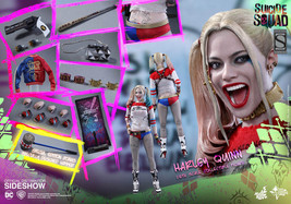 Harley Quinn Sixth Scale Figure Collector Edition Sideshow Exclusive Hot... - $310.07