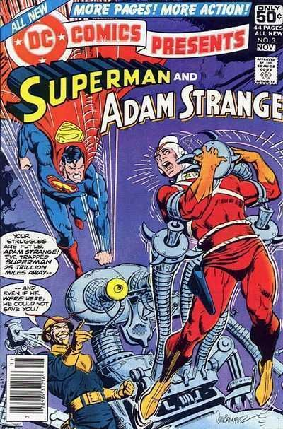 DC COMICS PRESENTS #3 NM! ~ SUPERMAN & ADAM STRANGE ~ Awesome!