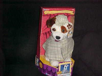 "12"" Wishbone Sherlock Holmes  Plush Dog With Box & Tags 1996 Big Feasts! Nice"