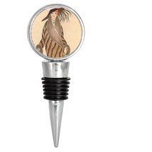 20's Art Deco Style Woman Lady Wine Stopper - $12.99