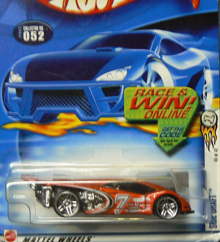 Mattel Hot Wheels - 2002 - 1:64 Scale - Orange Side Draft - #052