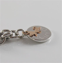 925 RHODIUM SILVER JACK&CO BRACELET WITH 9KT GOLD JACK RUSSEL DOG  MADE IN ITALY image 4