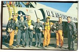 Original 7 astroauts John F Kennedy space center   POSTCARD 2.113 - $6.00