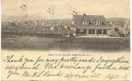 Golf Club Montclair New Jersey vintage 1906 Post Card - $5.00