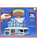 3-D 3D Puzzle Our House Hometown Collection Family Puzzle Series RoseArt... - $21.77