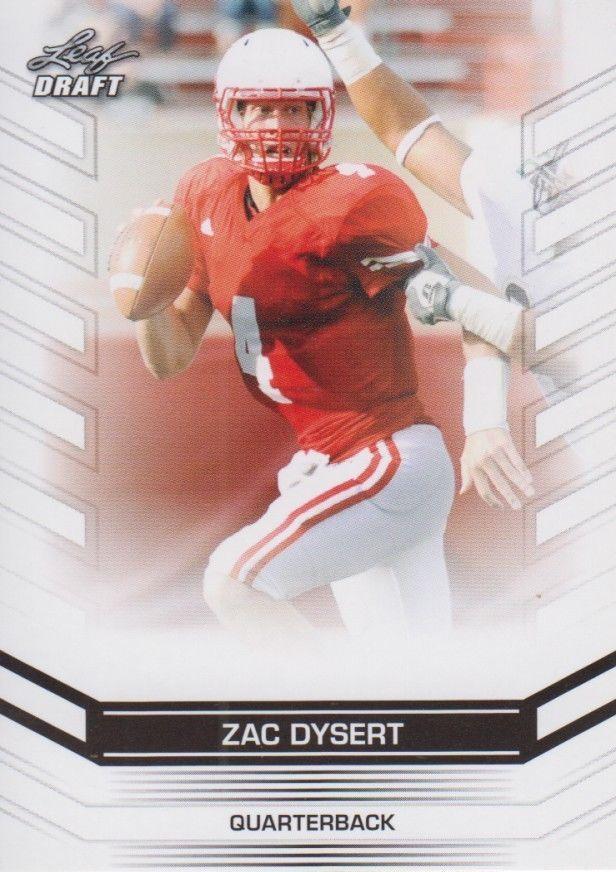 Zac Dysert 2013 Leaf Draft Card #77