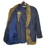 Gorgeous NWOT Denim Skirt Suit with Gold Embellishments by EXIT SHOPS Si... - $69.99