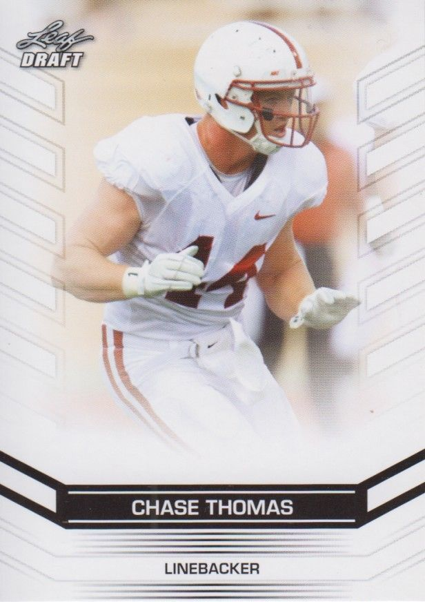 Chase Thomas 2013 Leaf Draft Card #85