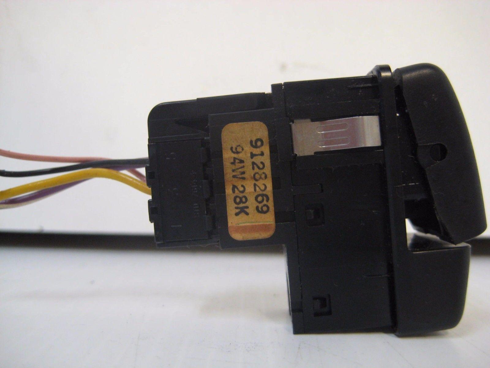 Volvo 850V 1995 Fog Light Switch OEM 9128269 94W28K