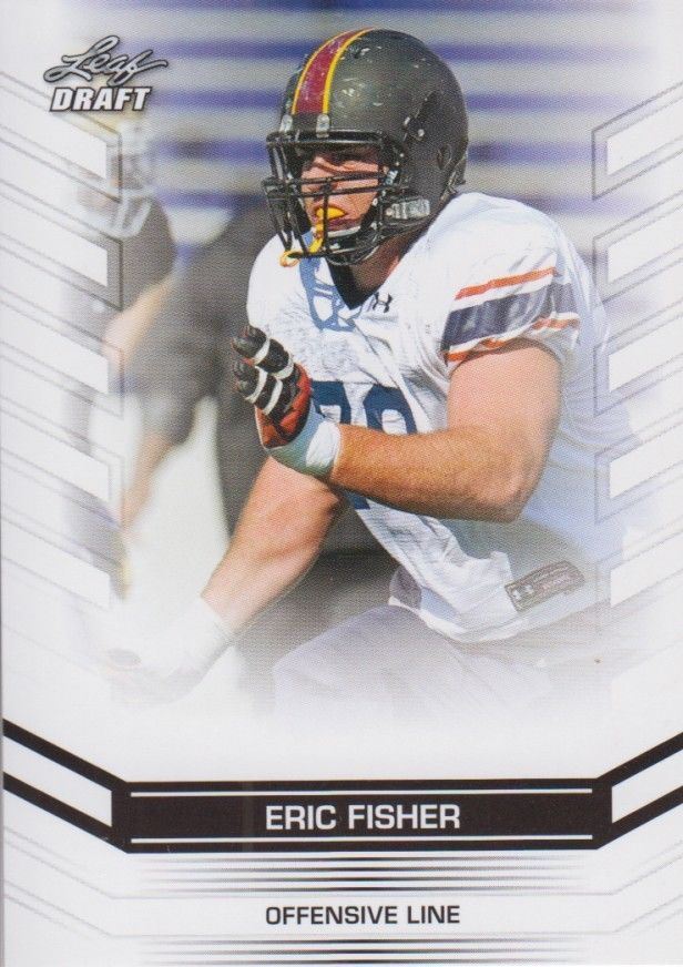 Eric Fisher 2013 Leaf Draft Card #88