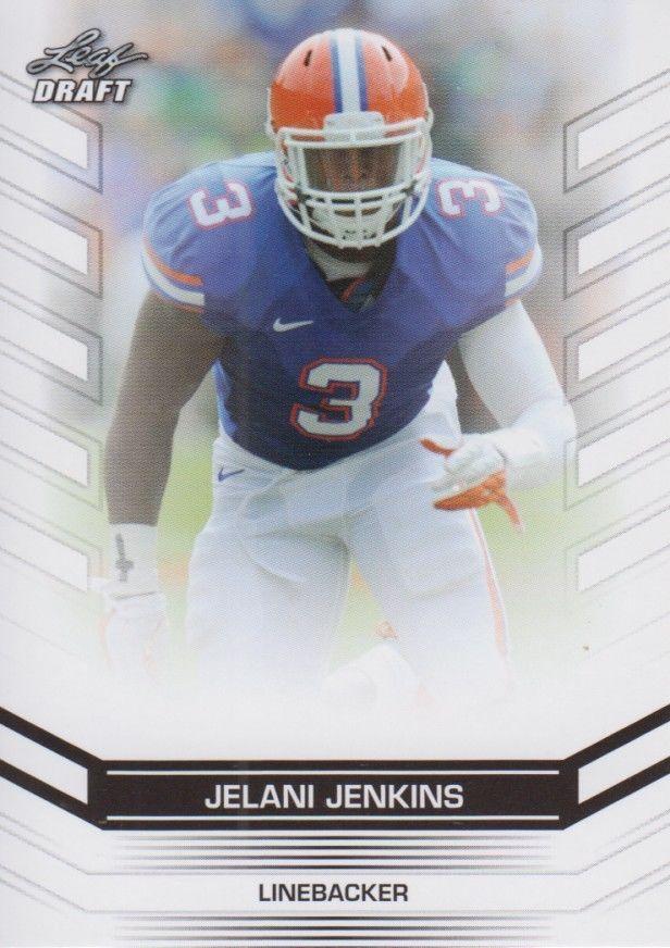 Jelani Jenkins 2013 Leaf Draft Card #90