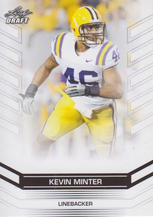 Kevin Minter 2013 Leaf Draft Card #93