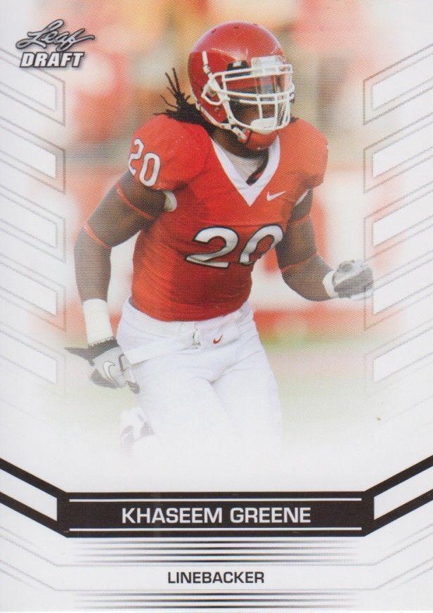 Khaseem Greene 2013 Leaf Draft Card #94