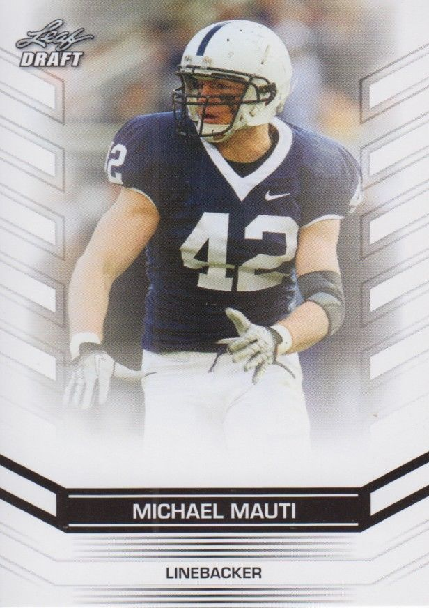 Michael Mauti 2013 Leaf Draft Card #97