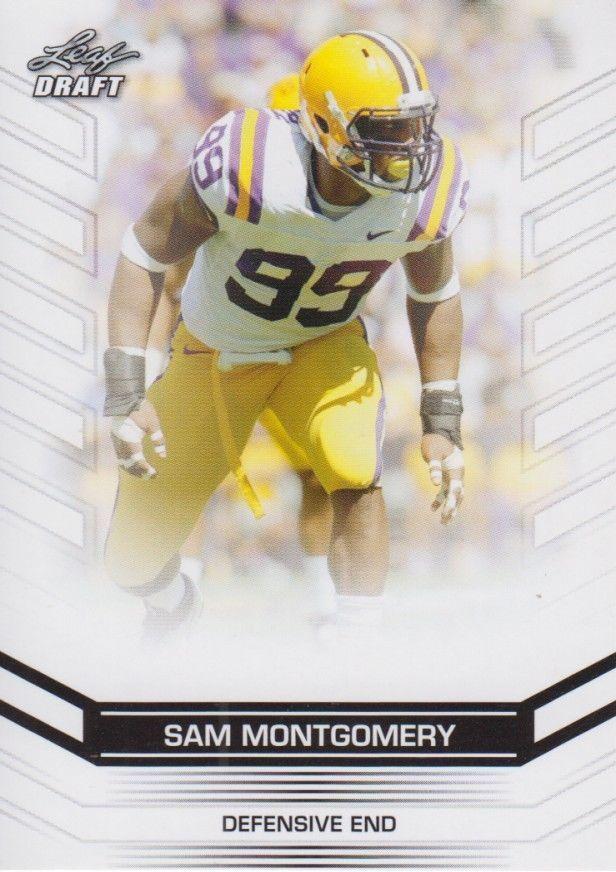 Sam Montgomery 2013 Leaf Draft Card #98