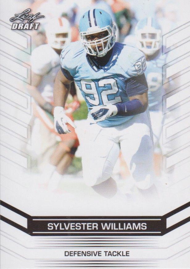 Sylvester Williams 2013 Leaf Draft Card #100