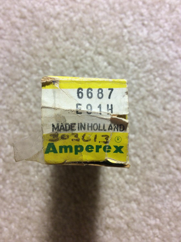 Amperex Premium Quality PQ 6689 E91H Tube NOS NIB