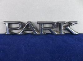 1997-2004 Buick 'Park' Avenue Chrome Plastic Script Emblem OEM - $7.00