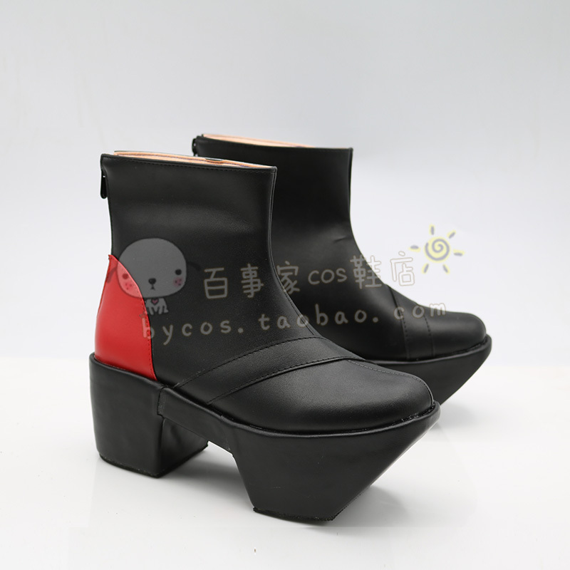 ninelie Aimer with chelly EGOIST EGOIST 7th Cosplay Boots shoes shoe boot #AT89