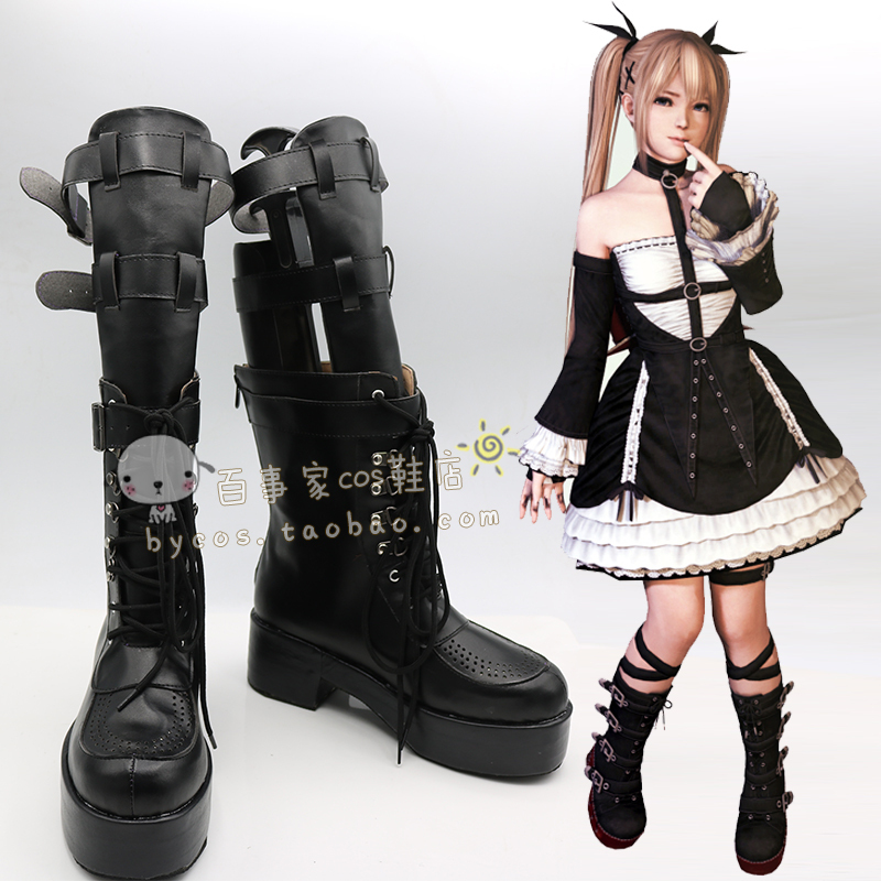 Dead or Alive 5 Ultimate  Marie Rose Cosplay Boots shoes shoe boot  #AT114