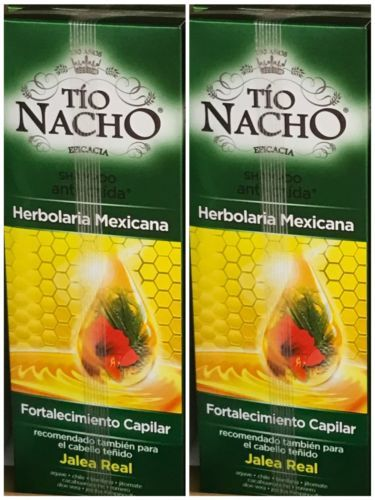 2 PACK Tio Nacho Mexican Herbs Strengthens Hair Royal Jelly