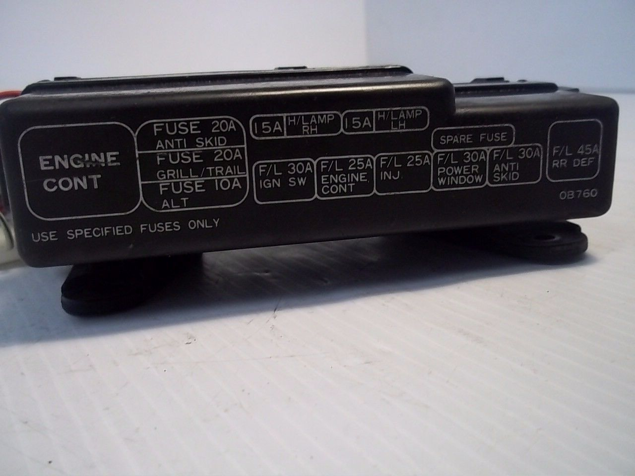 ... Nissan QUEST XE 1995 Fuse Box Relay Holder OEM ...