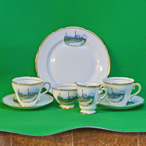 Vintage 7-Piece Royal Ascot (England) Partial Dinnerware Set, Kitwanga, ... - $10.95