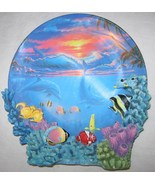 THE HAMILTON COLLECTION SEALIFE AT SUNSET PLATE ANTHONY JONES COLORS OF ... - $18.38