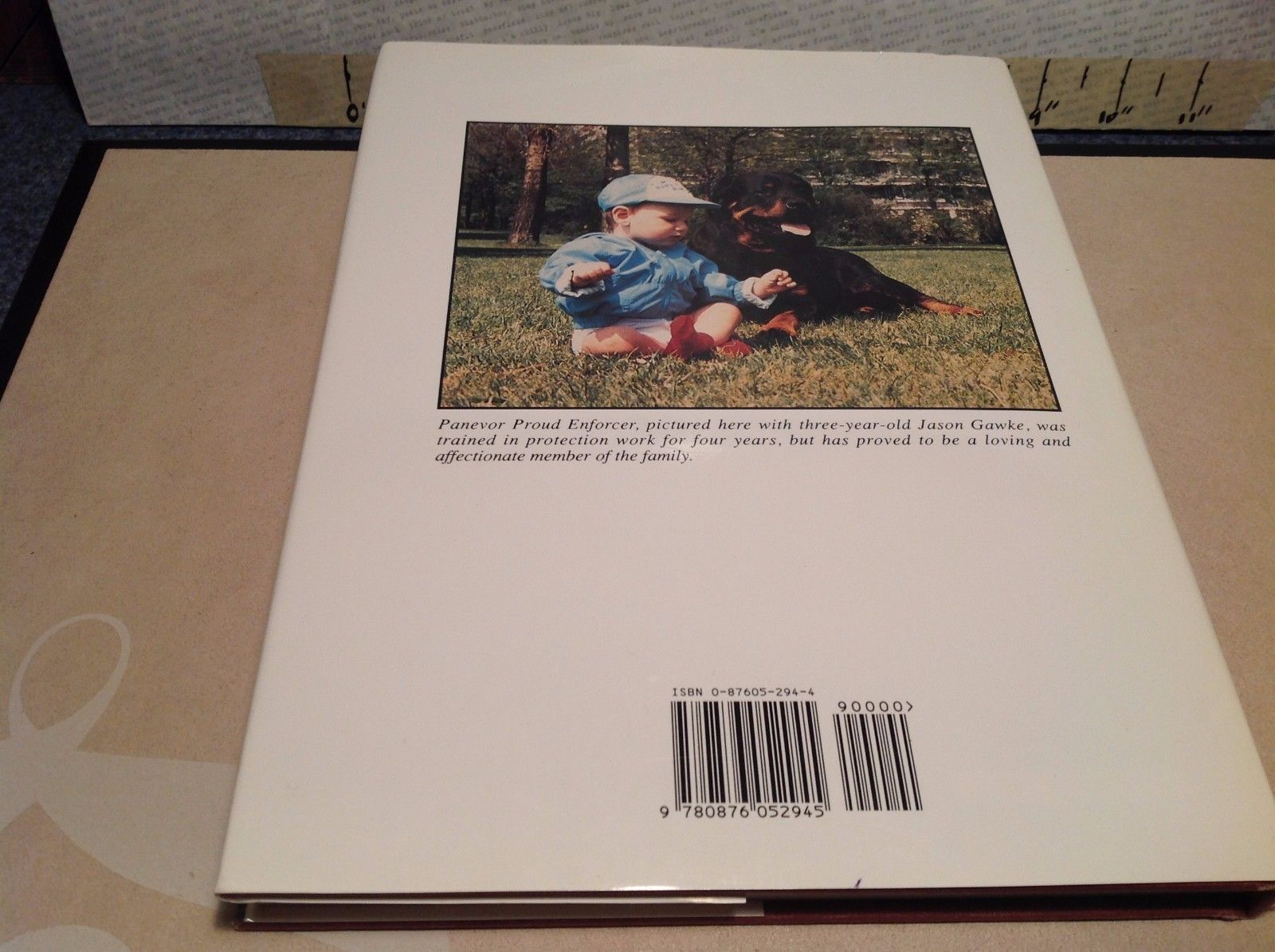 The Rottweiler Today Book by Judy and Larry Elsden