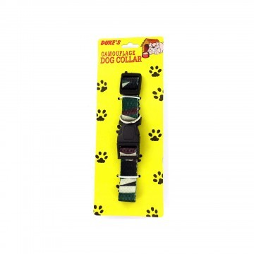 Cammolflage dog collar
