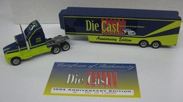 1:64 Action Diecast Digest 1993 Anniversary Edition Tractor Trailer #653... - $18.59