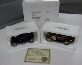 ( 2 ) 1/32 National Motor Museum 1931 Ford Model A & 1925 Ford Model T L... - $23.26