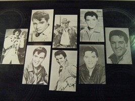 ( 8 ) Vintage Elvis Exhibit Photo Cards All Dif... - $22.33