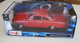 1:18 Maisto 1962 Chevrolet Bel-Air Coupe Red Mi... - $27.00