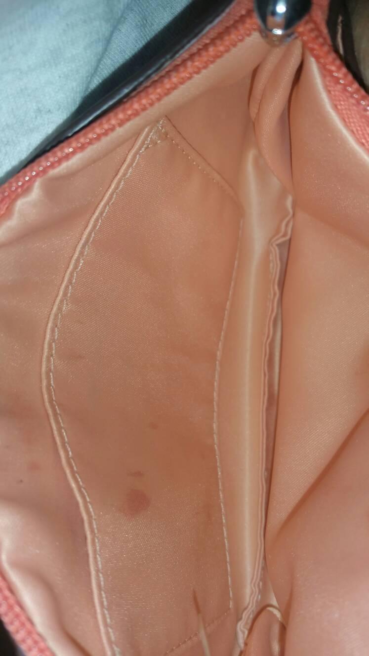 COACH Peyton Multi Striped Baguette Wristlet #F51199