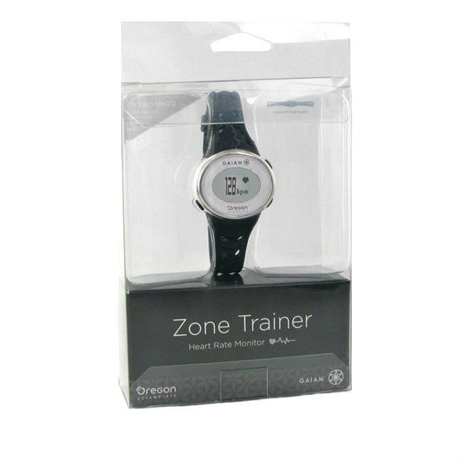 Black Oregon Scientific Gaiam Zone Trainer 3.0 Watch and Heart Rate Monitor