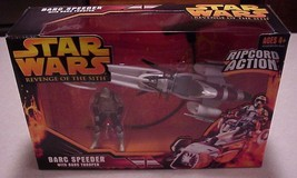 Hasbro Star Wars Barc Speeder & Trooper Sealed Rip Cord Action Revenge O... - $26.81